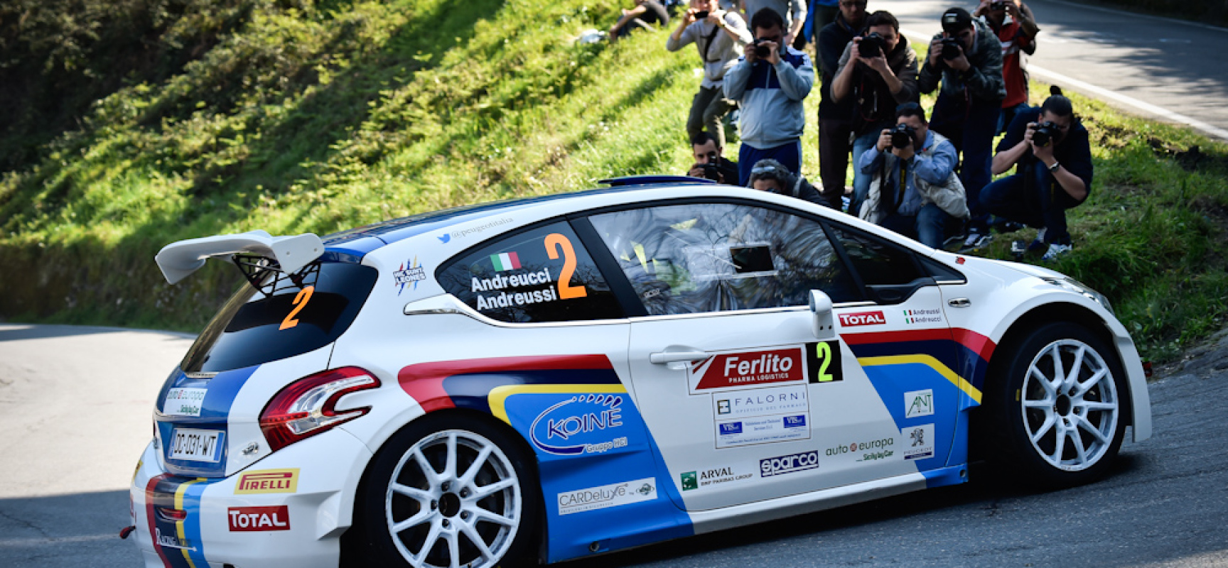 Andreucci vince  il Rally di Sanremo