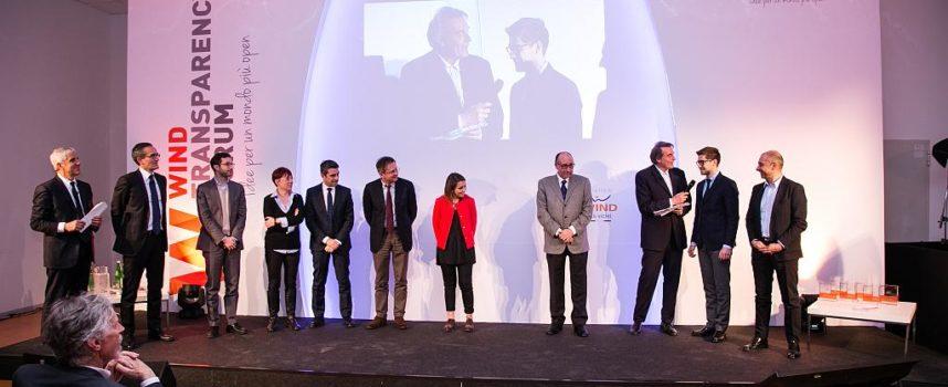 Nell'ambito della prima edizione dei Wind Trasparency Awards  AL COMUNE DI CAPANNORI IL RICONOSCIMENTO SPECIALE 'WIND ANCI'  PER IL PROGETTO 'DIRE FARE PARTECIPARE'
