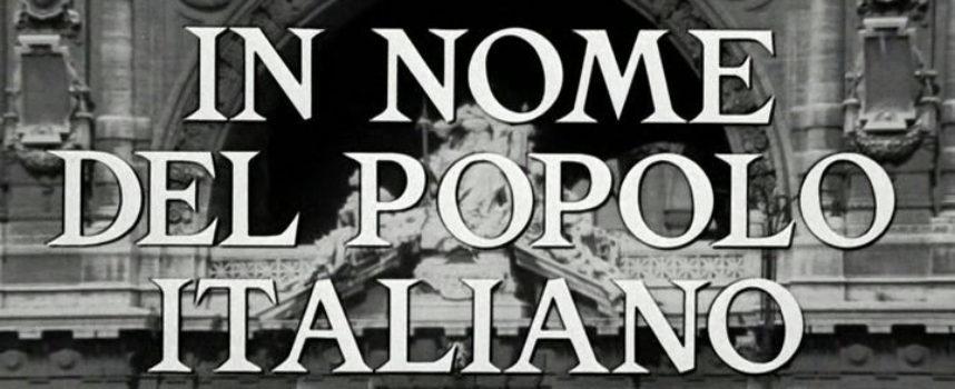 """In nome del popolo italiano – Serata conclusiva di """"Effetto Cinema 2015"""""""