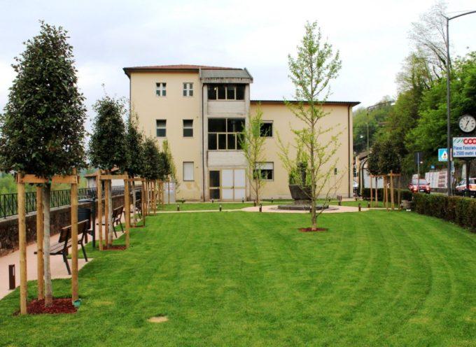 Castelnuovo: completati i lavori di riqualificazione del Giardino di via Roma