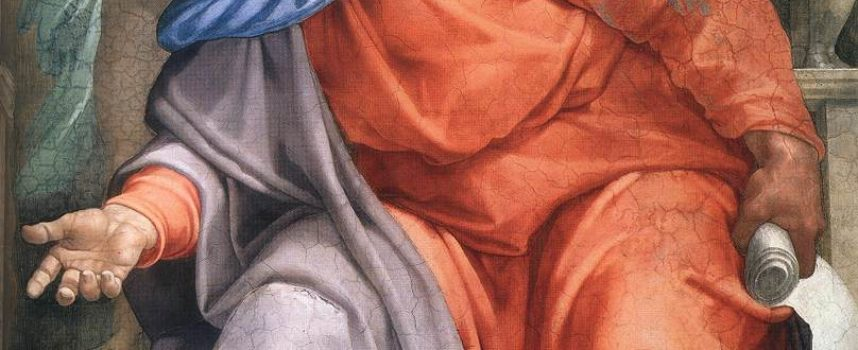 Il santo del giorno, 10 Aprile: Ezechiele il Profeta