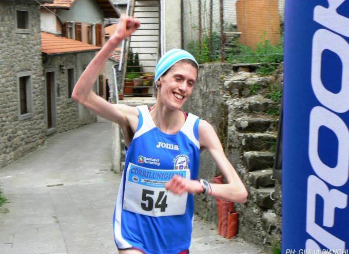 Francesca Setti del GS Orecchiella trionfa alla StraSassalbo
