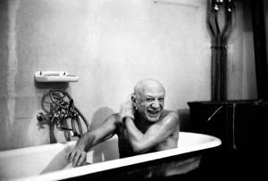 Pablo Picasso, primo ritratto di David Douglas Duncan, 8 febbraio del 1956