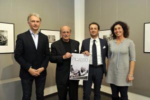 #picassoduncan Stefanelli, Del Carlo, Del Dotto, Guidi alla preview di Lucca