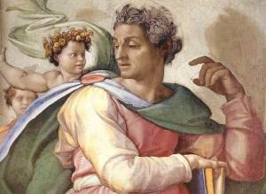9 maggio Isaiah-Michelangelo