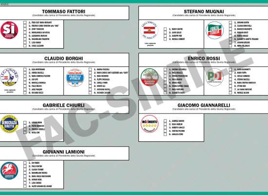 Elezioni regionali Toscana 2015: tutte le info sul voto