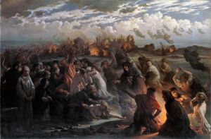 Gustav Adolph Spangenberg, La notte di Valpurga (1862)