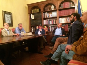 Incontro Stefano Baccelli con Ordine dei Medici Lucca