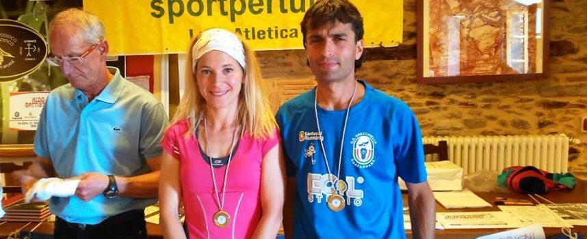 Vittoria per  Marco Guerrucci del GS Orecchiella Garfagnana