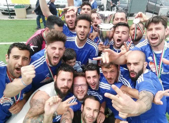 Porcari vince il campionato italiano di calcio a sette Aics 2015