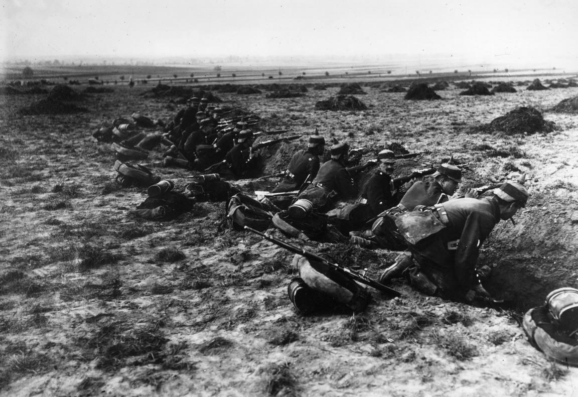 Trincee-tedesche-durante-la-prima-guerra-mondiale