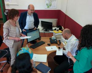 Un momento dell'incontro a Fondazione Campus per il progetto SCORE