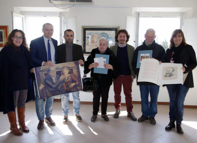 CHIUDE VENERDI' 8 MAGGIO AD ATHENA LA MOSTRA  'VINCENZO MUSCATELLO- L'ARTE E LA VITA, UNA COSA SOLA'