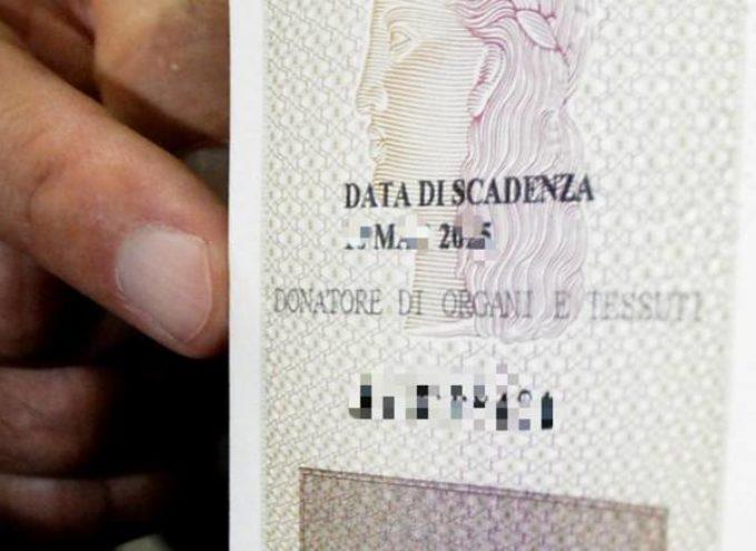Donazione di organi, si può dire di sì, richiedendo la carta d'identità