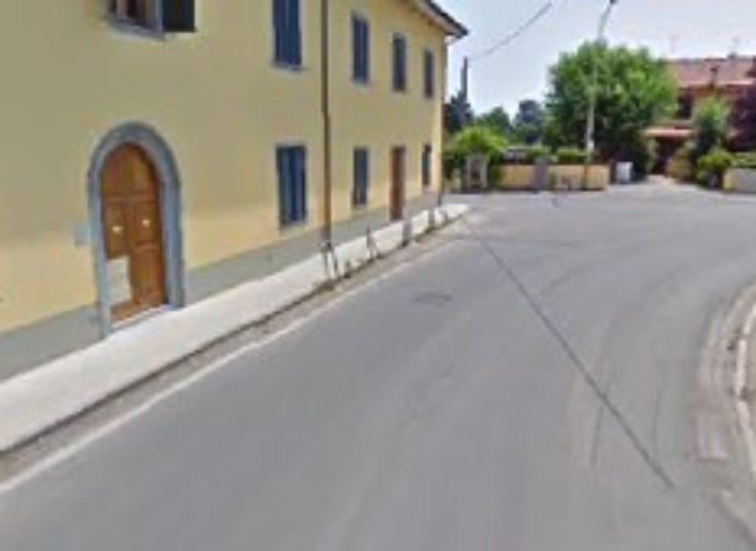 Partono i lavori per sistemare via di S. Giuseppe che collega Altopascio e Montecarlo