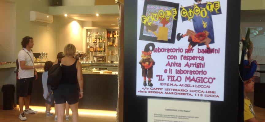 Al Caffè Letterario, dove trovi libri, prelibatezze, cultura ed anche Arte-Terapia!