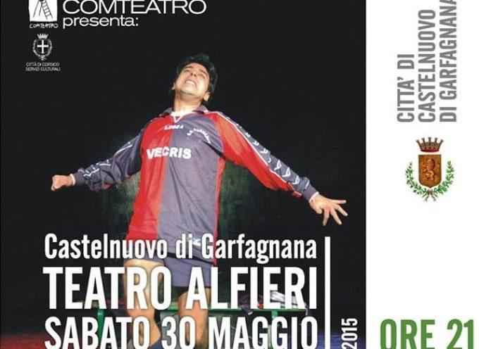 Al teatro Alfieri  il gioco del calcio come metafora della vita