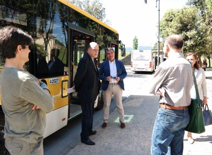 Bus ogni mezz'ora tra Lucca e Capannori (via Ospedale)