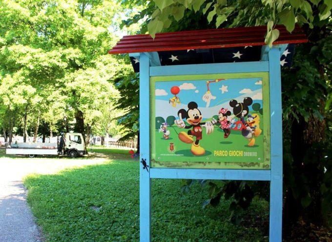 Partita a Castelnuovo la riqualificazione del parco giochi del Dronero