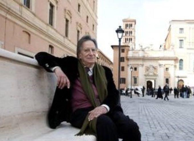 Venerdì 8 maggio protagonista l'architetto Paolo Portoghesi analizza il rapporto fra architettura, luoghi e difesa del paesaggio