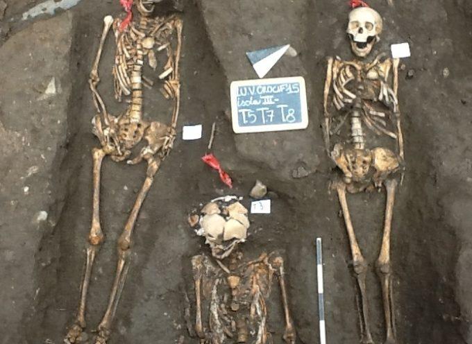 Importante ritrovamento archeologico durante gli scavi per l'isola ecologica in Via del Crocifisso