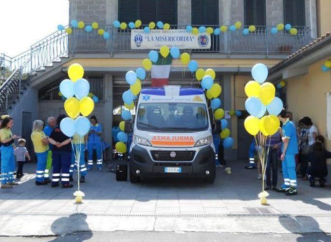 Galli 2: inaugurata la nuova Ambulanza della Misericordia di Gallicano