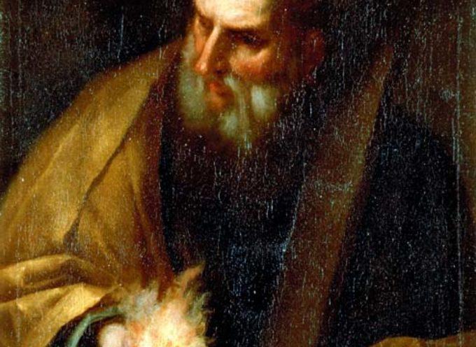 """Il Santo del giorno, 11 Giugno: S.Barnaba, (""""figlio dell'esortazione"""") che vende tutti i suoi averi per farsi Apostolo"""
