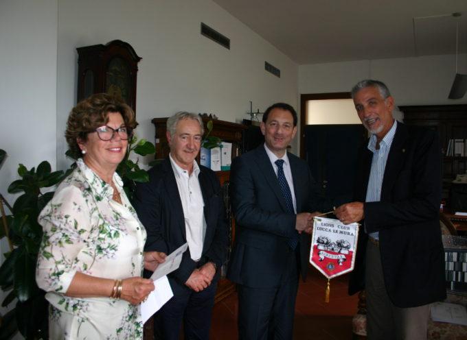 AVO Lucca e LIONS Lucca Le Mura contribuiscono  a rendere più accoglienti gli spazi esterni della Psichiatria del S.Luca
