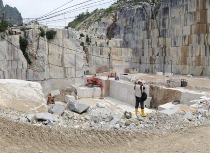 Digital Stone Project: studenti e professionisti internazionali in visita alle cave della Cooperativa Apuana