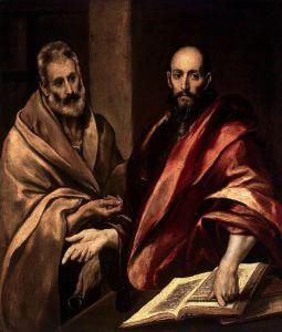 29 giugno Pietro e Paolo di El Greco