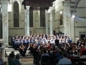 Coro università Pisa Tuscan Chamber Orchestra