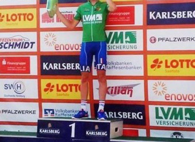 Al ciclista Filippo Mori la Maglia Verde a punti nel Trofeo Karlsberg in Germania