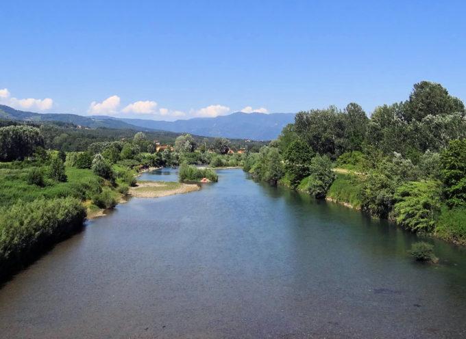 Manutenzione delle arginature del fiume Serchio