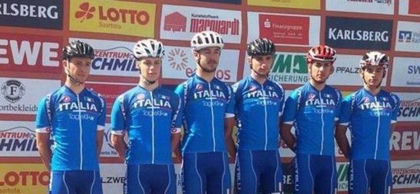 Podio internazionale in Germania del ciclista lucchese Filippo Mori