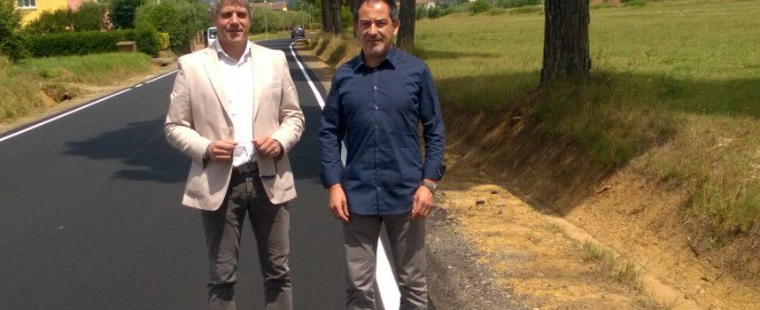 Conclusi i lavori per sistemare via di S. Giuseppe tra Altopascio e Montecarlo