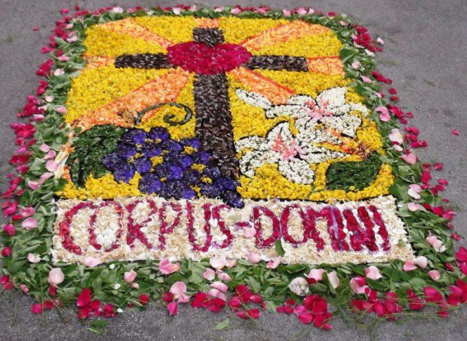 La tradizione dell'Infiorata rivive Sabato 6 Giugno a Turritecava