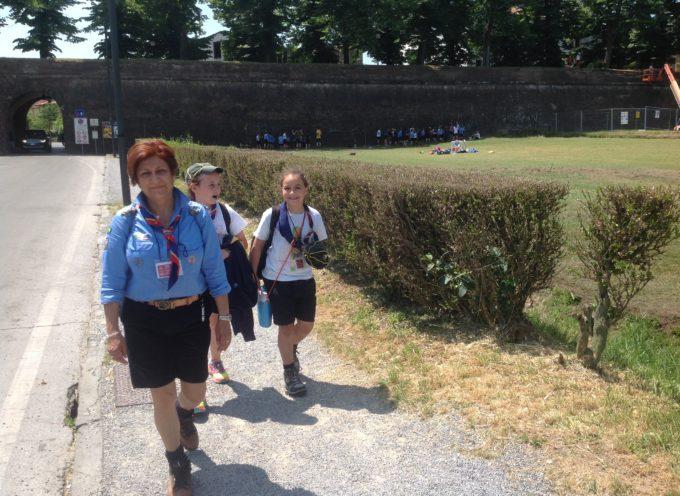 Lucca invasa dai boys-scout