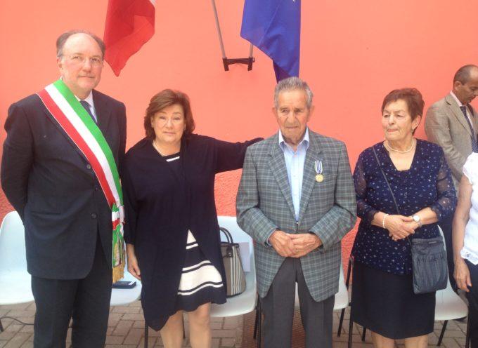 San Romano in Garfagnana: medaglia d'onore a Remo Luccarini