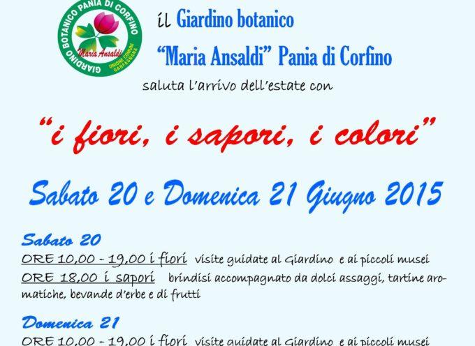 """Il Giardino botanico """"Maria Ansaldi"""" Pania di Corfino saluta l'arrivo dell'estate"""
