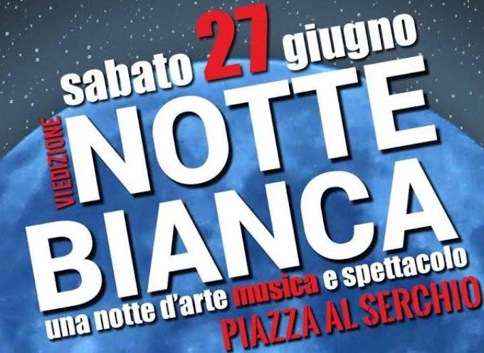 Piazza al Serchio, tutto pronto per la sesta edizione della Notte Bianca