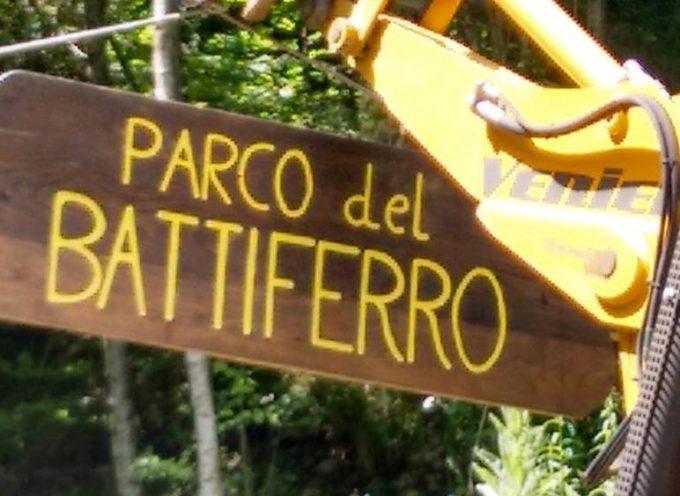 Ladri in azione nel Parco del Battiferro
