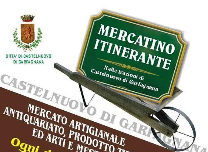 Mercatino itinerante a Piano Pieve