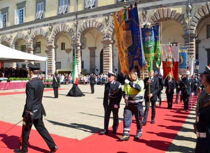 Tagliasacchi a Lucca per il per 69° anniversario della Repubblica Italiana,