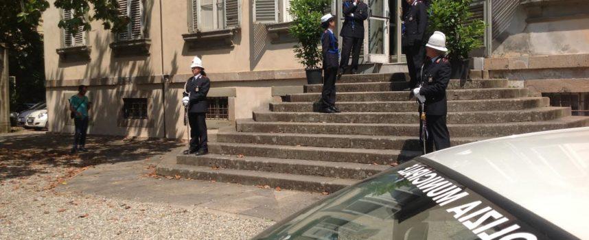La Polizia Municipale di Lucca ha celebrato la sua fondazione a Villa Bottini