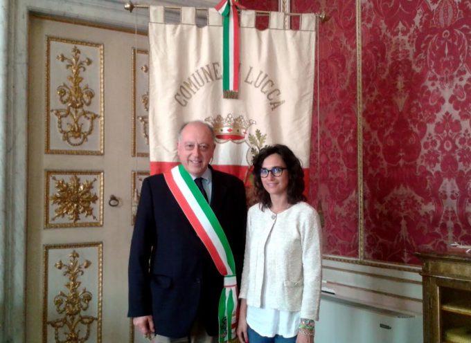 Il sindaco Alessandro Tambellini riceve la dottoressa Chiara Posarelli