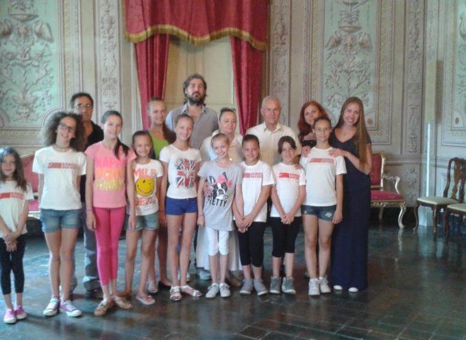 Da Gomel a Lucca per la ginnastica ritmica