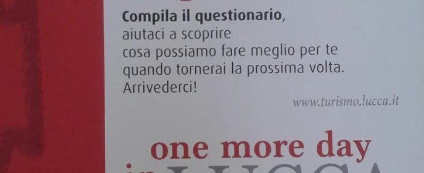 A Lucca un giorno in più – One more day in Lucca