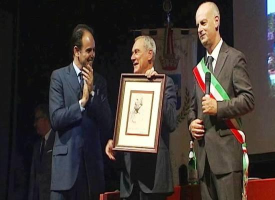 Pietro Grasso si commuove: Grazie Barga per questo riconoscimento