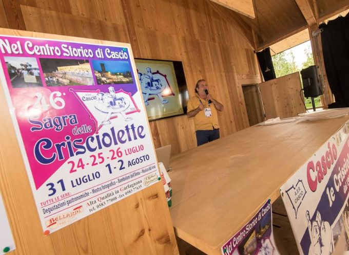 Crisciolette superstar all' EXPO di Milano
