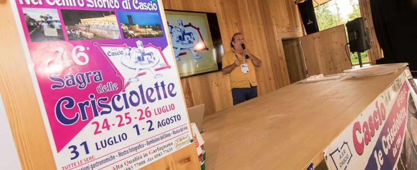 Crisciolette superstar all' EXPO di Milano